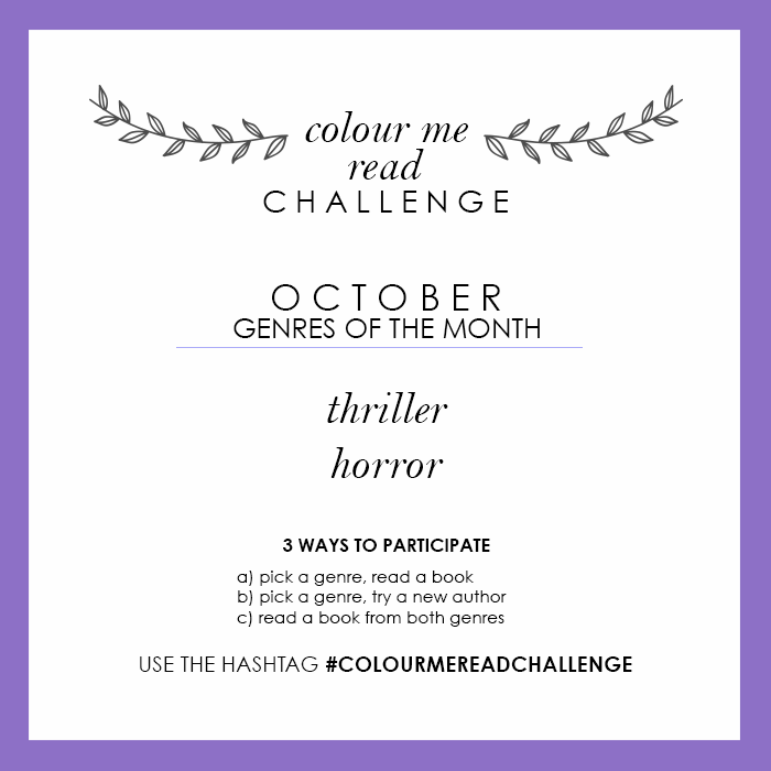 colour me read challenge october