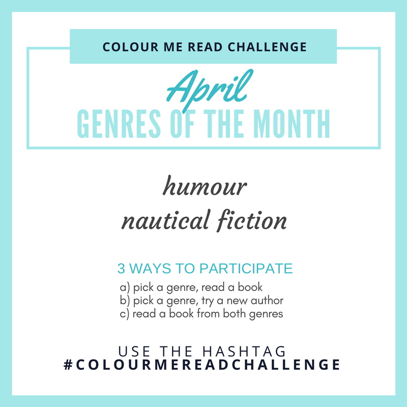colour me read challenge April