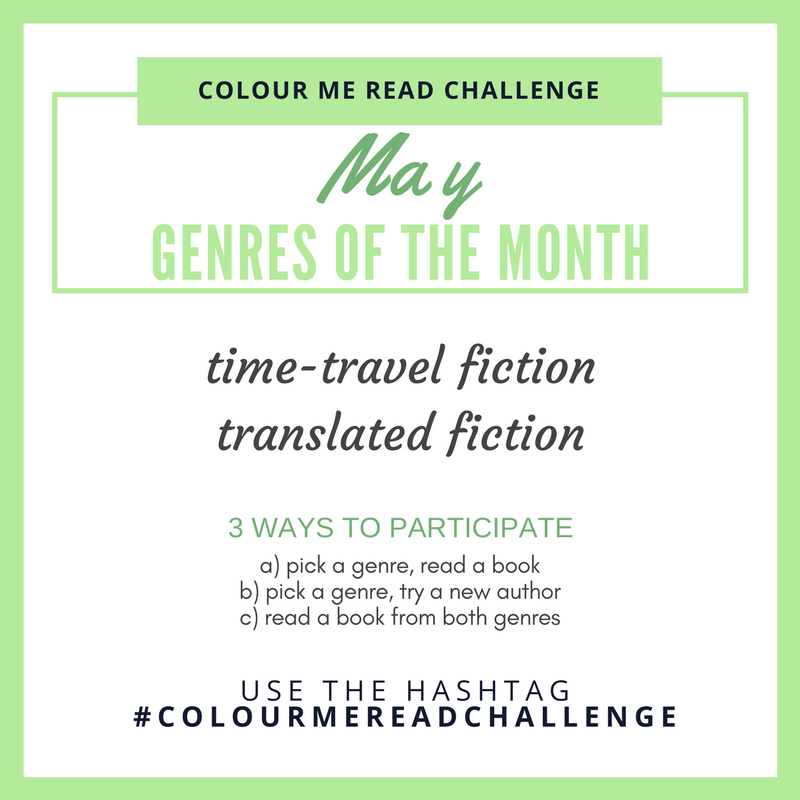 colour me read challenge may